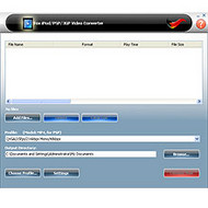 Fox iPod/PSP/3GP Video Converter screenshot